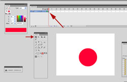 How to Draw a 3D Sphere in Adobe Flash Step 1